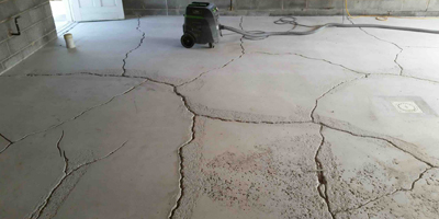 Types of cracks in concrete