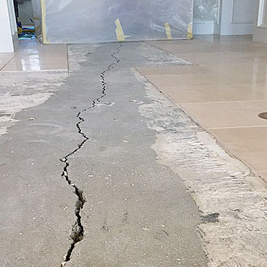 Concrete Floor Cracks