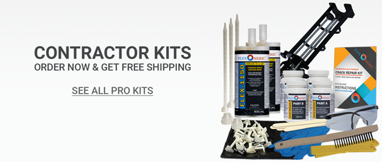 Contractor kits for professional waterproofers