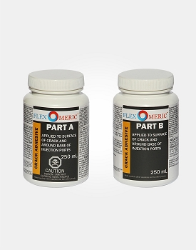 Flexomeric Crack Surface Paste and Port Adhesive (part A and part B)