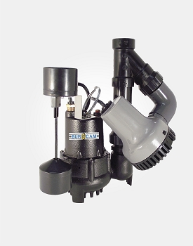 1/3 Primary Pump With 12V Back-up Pump System