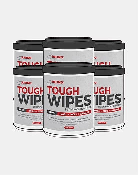 Rhino Though Wipes, 6 Pack